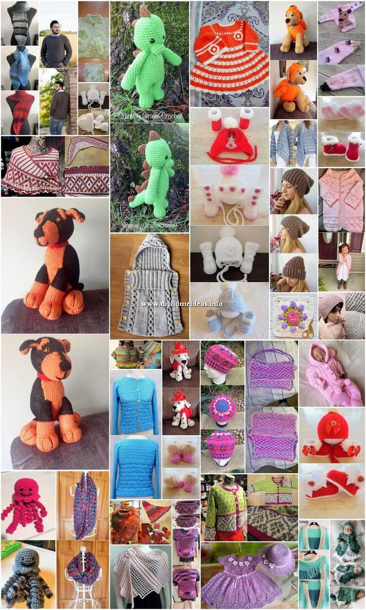 40+ Easy Crochet Patterns for Beginners