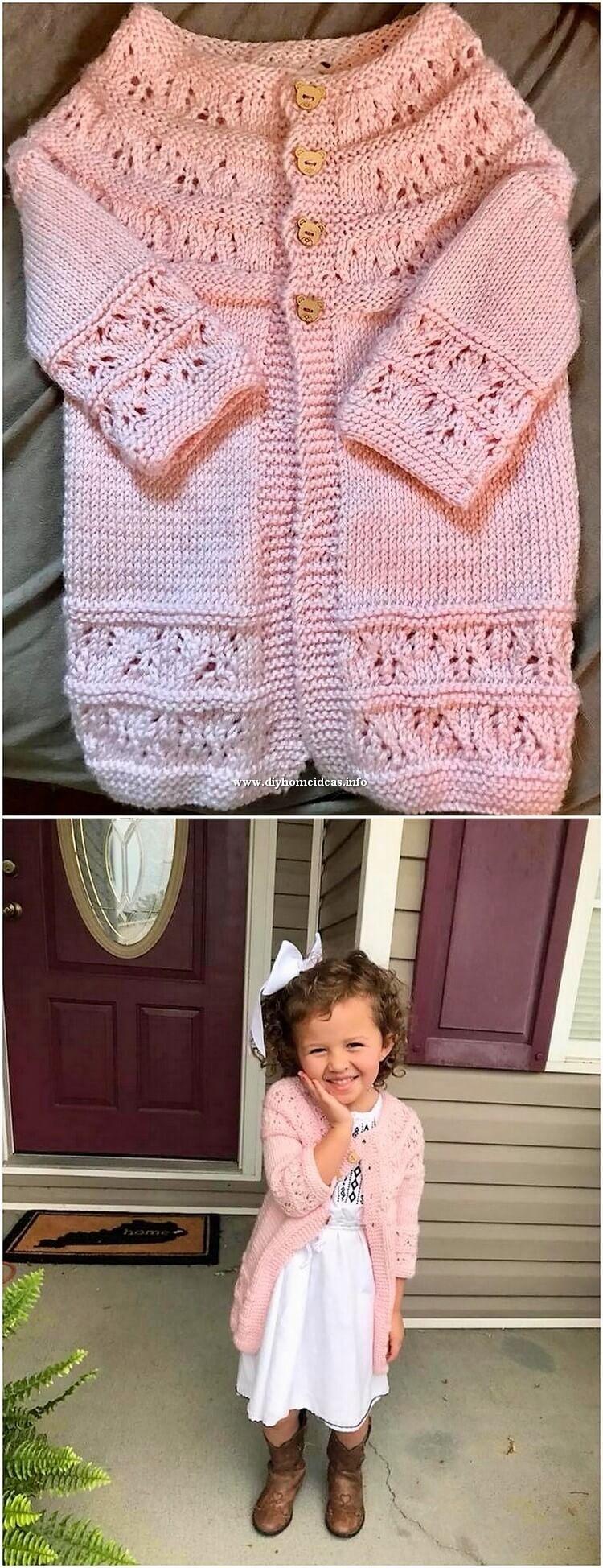 Baby Girl Crochet Shirt