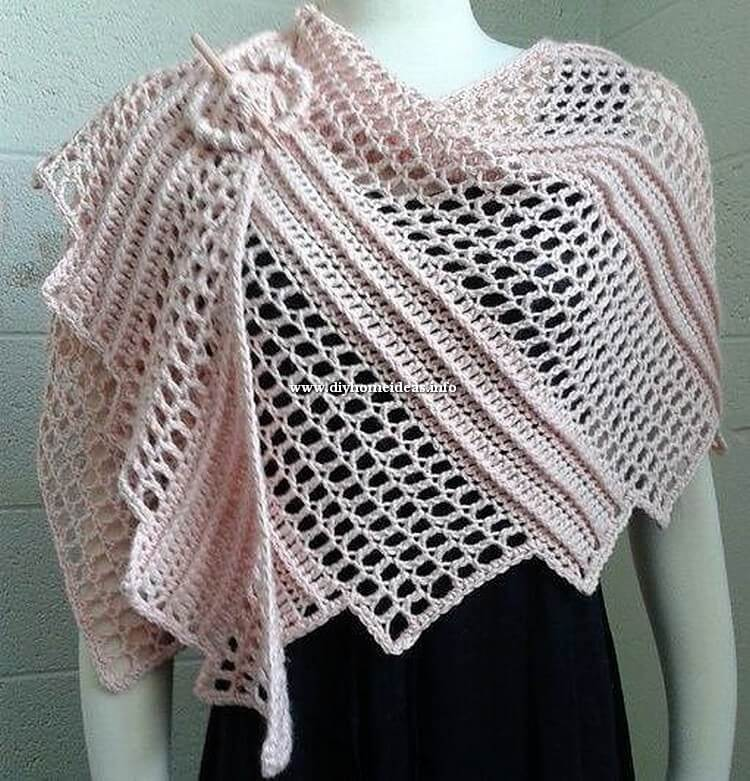 Beautiful Crochet Scarf