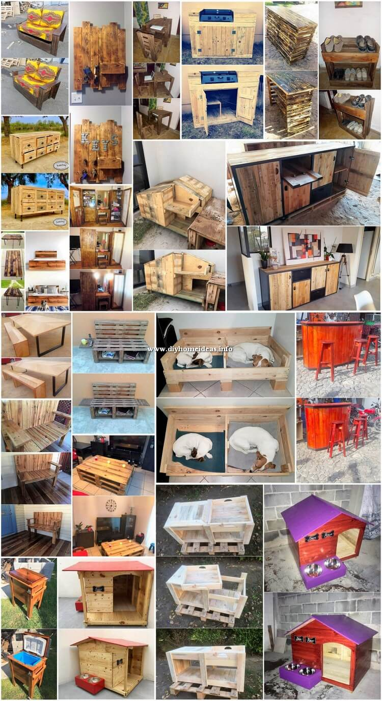 Charming Wood Pallet DIY Projects for Your Home Beauty