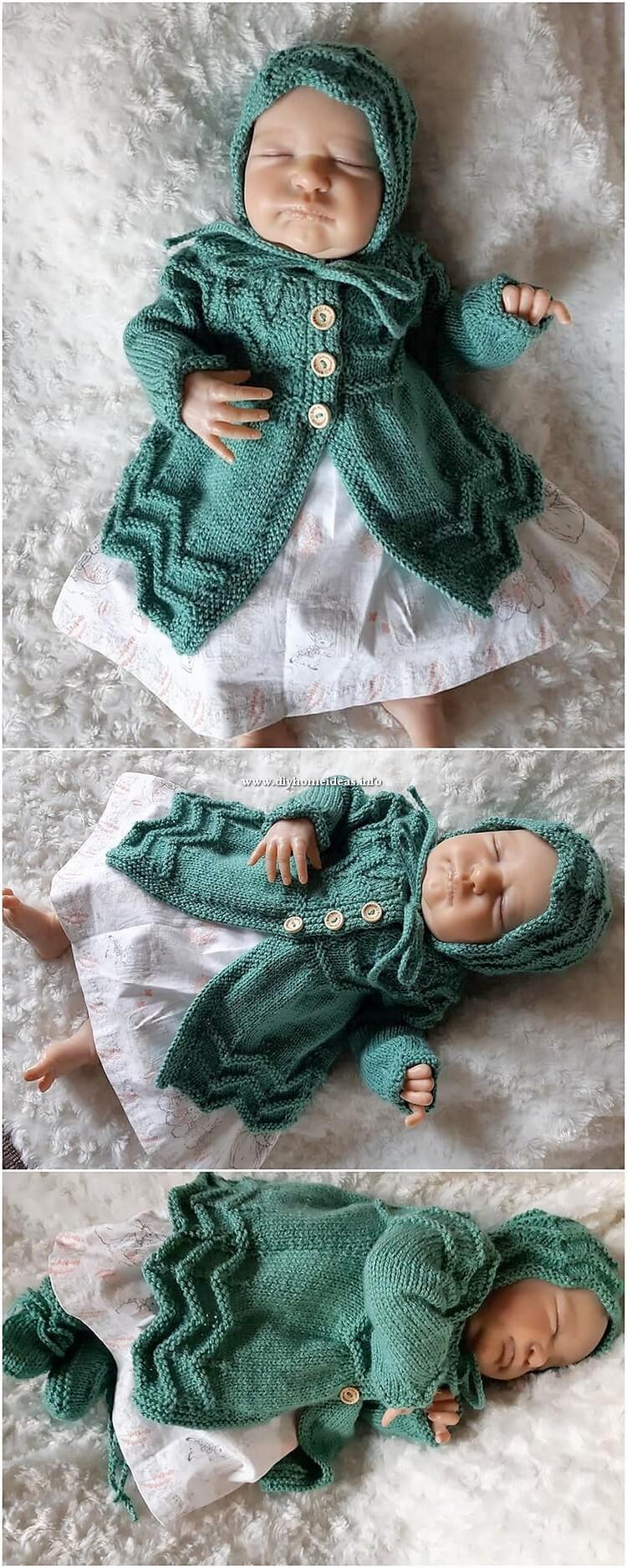 Crochet Baby Seater (2)