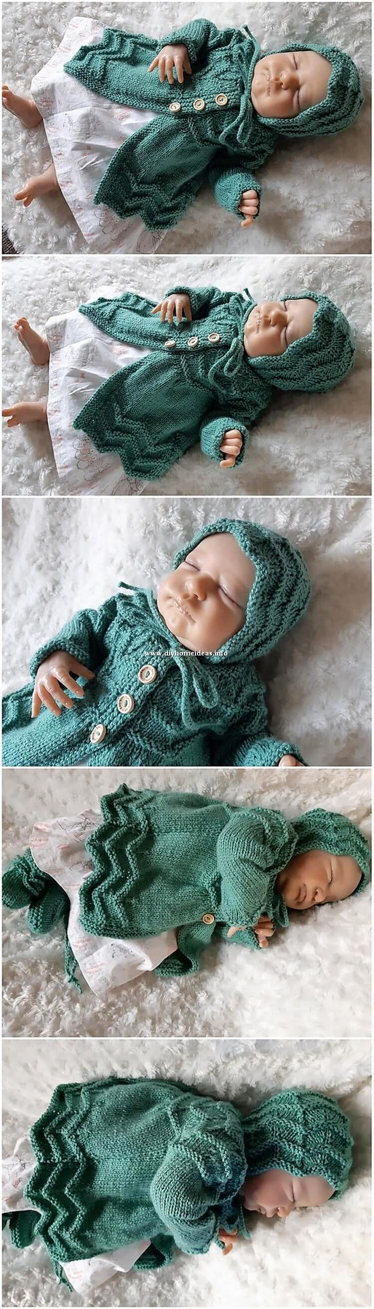 Crochet Baby Seater