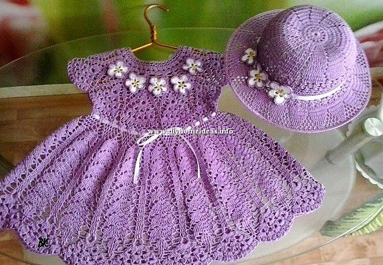Crochet Frock and HaT