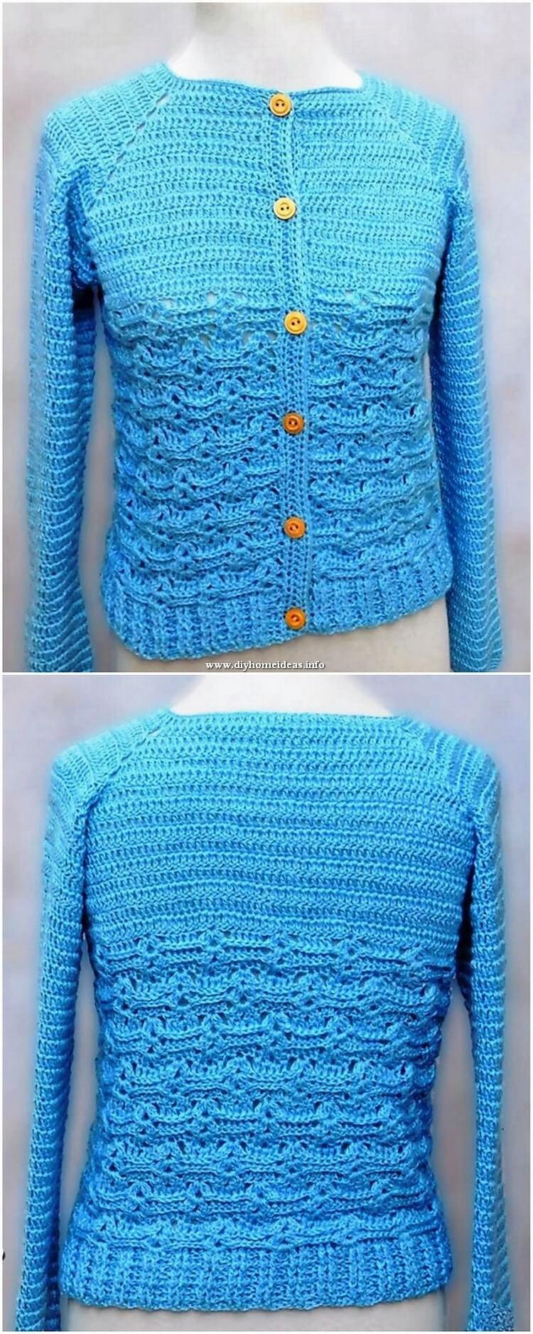 Crochet Jersey Pattern