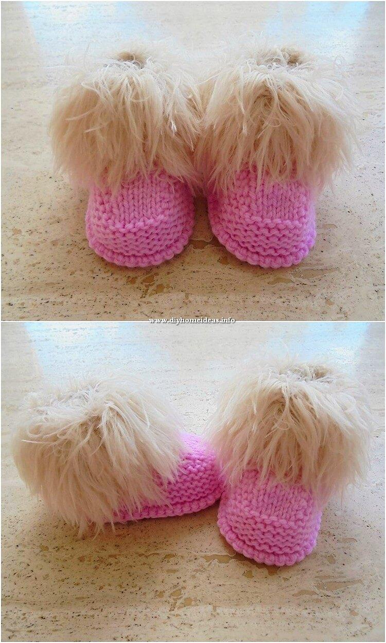 Crochet Made Booties (2)