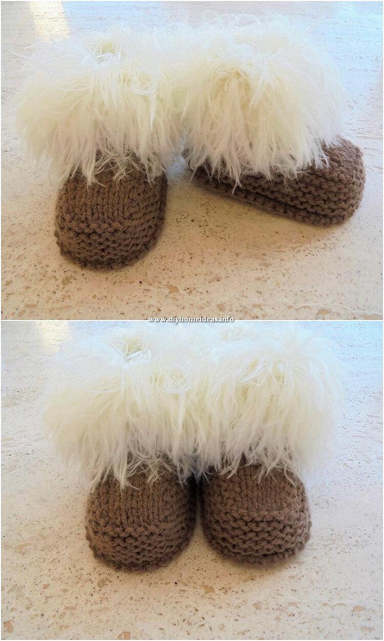 Crochet Made Booties (3)
