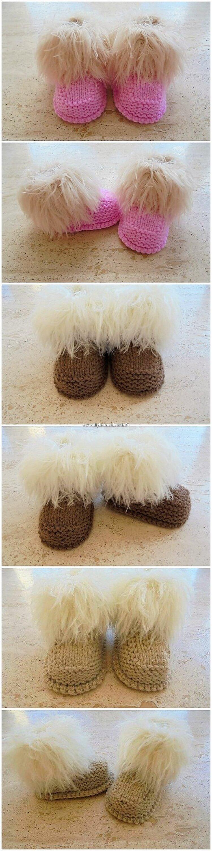 Crochet Made Booties