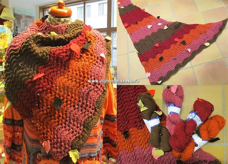Crochet Scarf Design