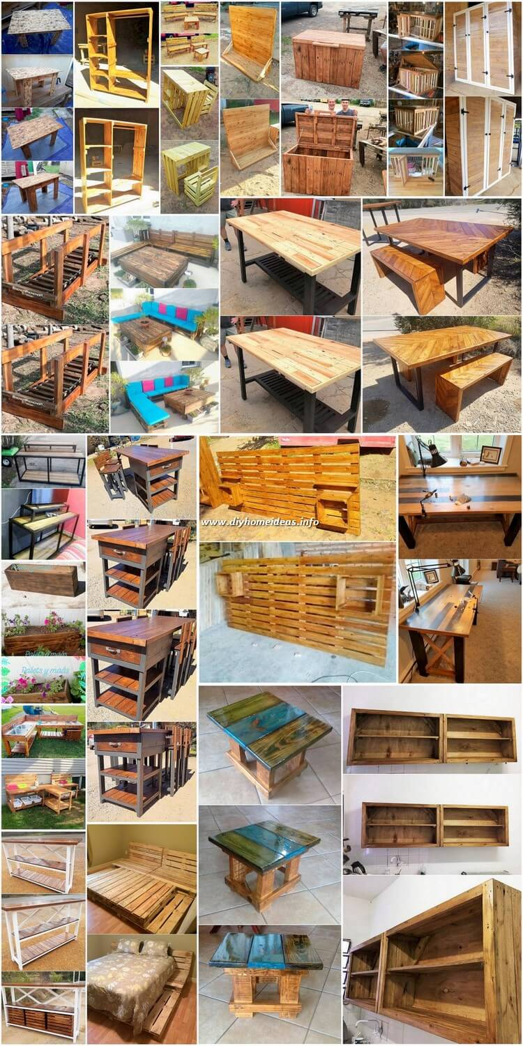 Few Nice Ideas Made with Recycled Wood Pallets