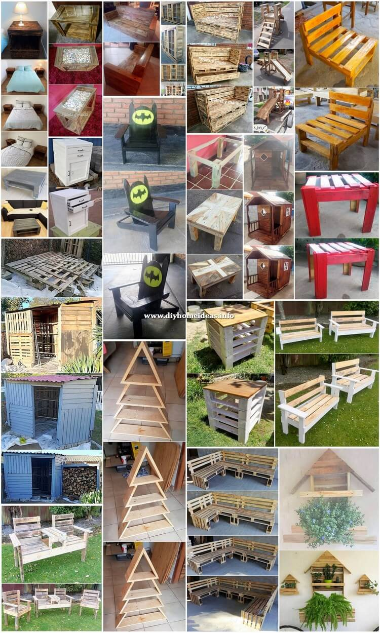 Breathtaking DIY Wood Pallet Crafting Ideas