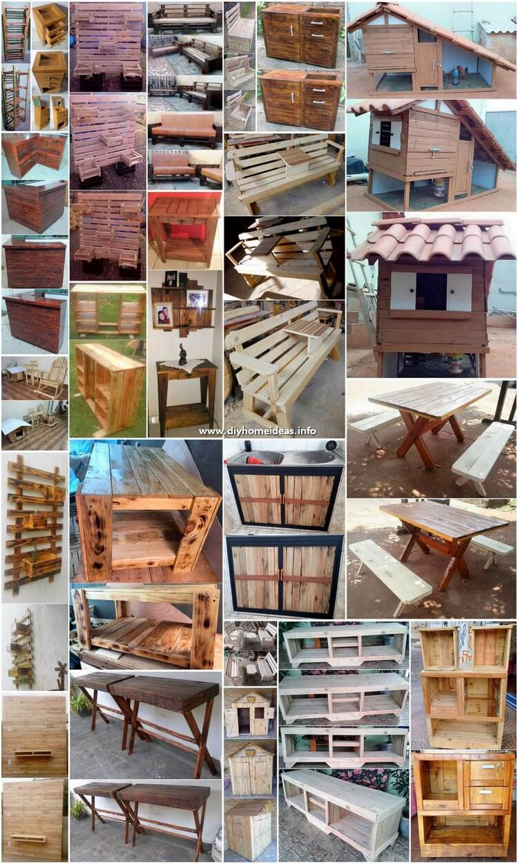 Easiest Ways of Recycling Old Wooden Pallets