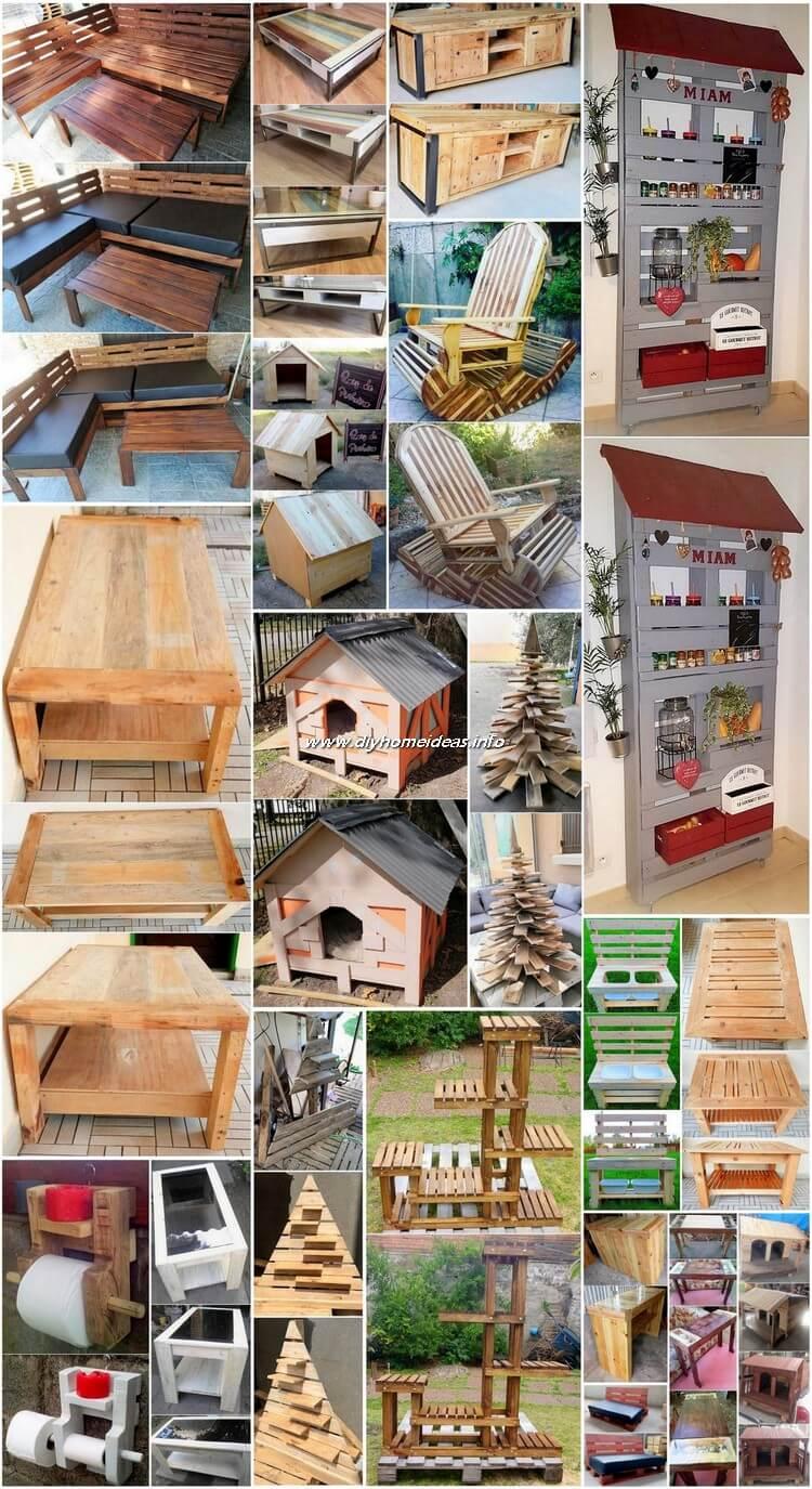 Genius Ideas for Repurposing Old Wooden Pallets