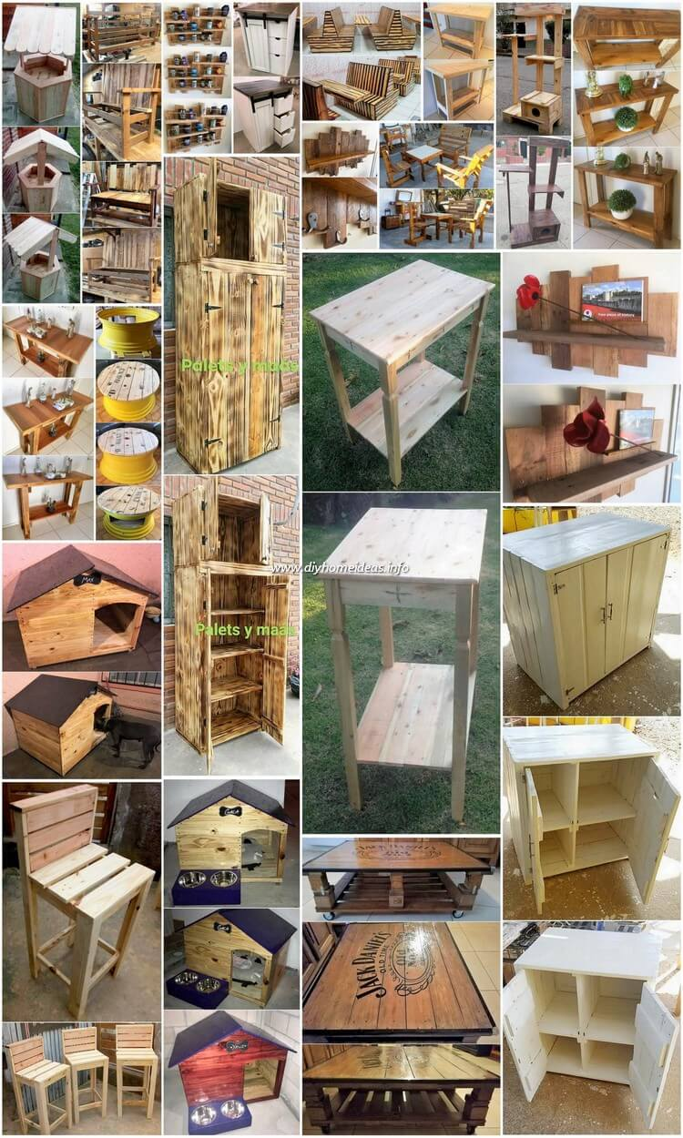 Cheap And Easy DIY Wood Pallet Projects