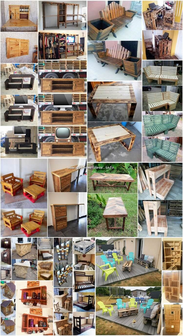 Creative DIY Ideas Out of Recycled Wood Pallets