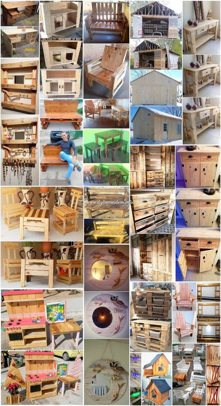 Inspiring DIY Pallet Ideas for Your Home Beautification