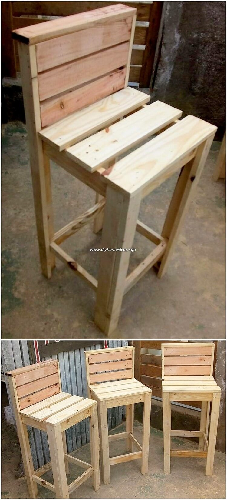 Pallet Chairs
