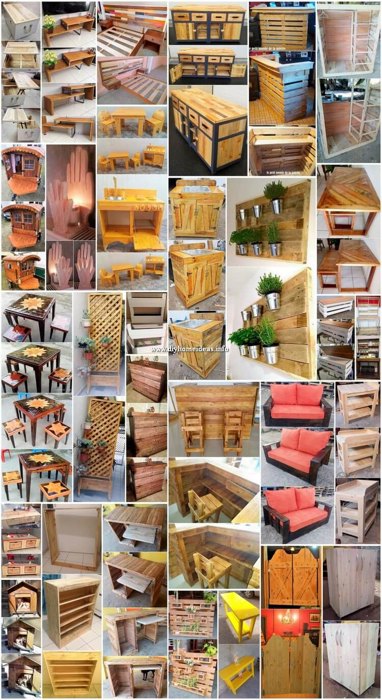 30 Expressive Pallet Furniture Ideas and DIY Projects
