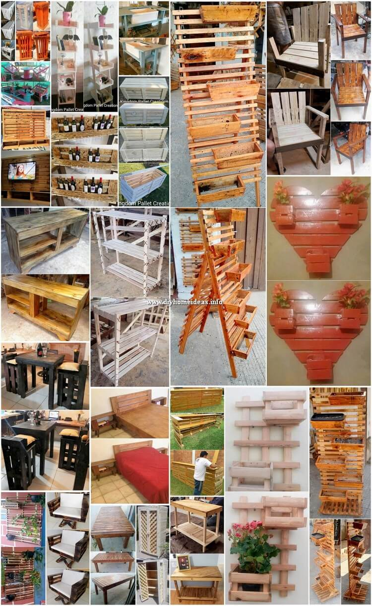 Great Wood Pallet Project Ideas That'll Make You Money