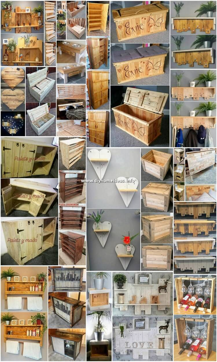 Inspiring DIY Pallet Ideas You Can Make At Home