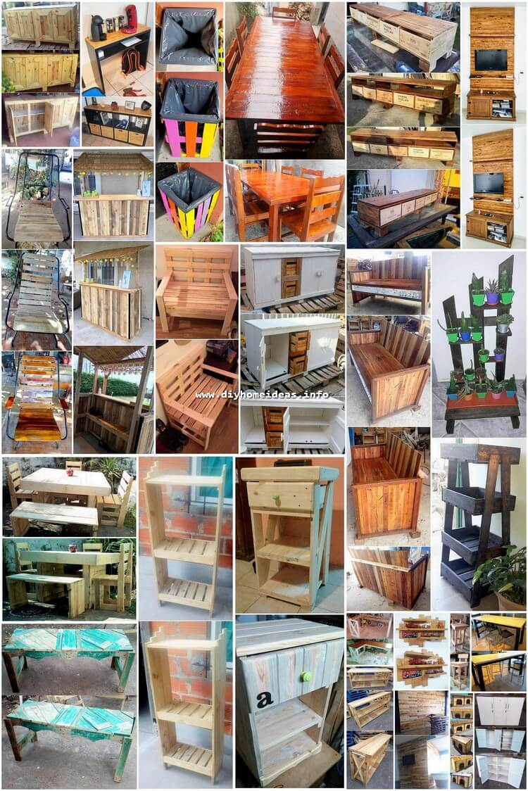 Latest DIY Pallet Ideas For You Home and Garden