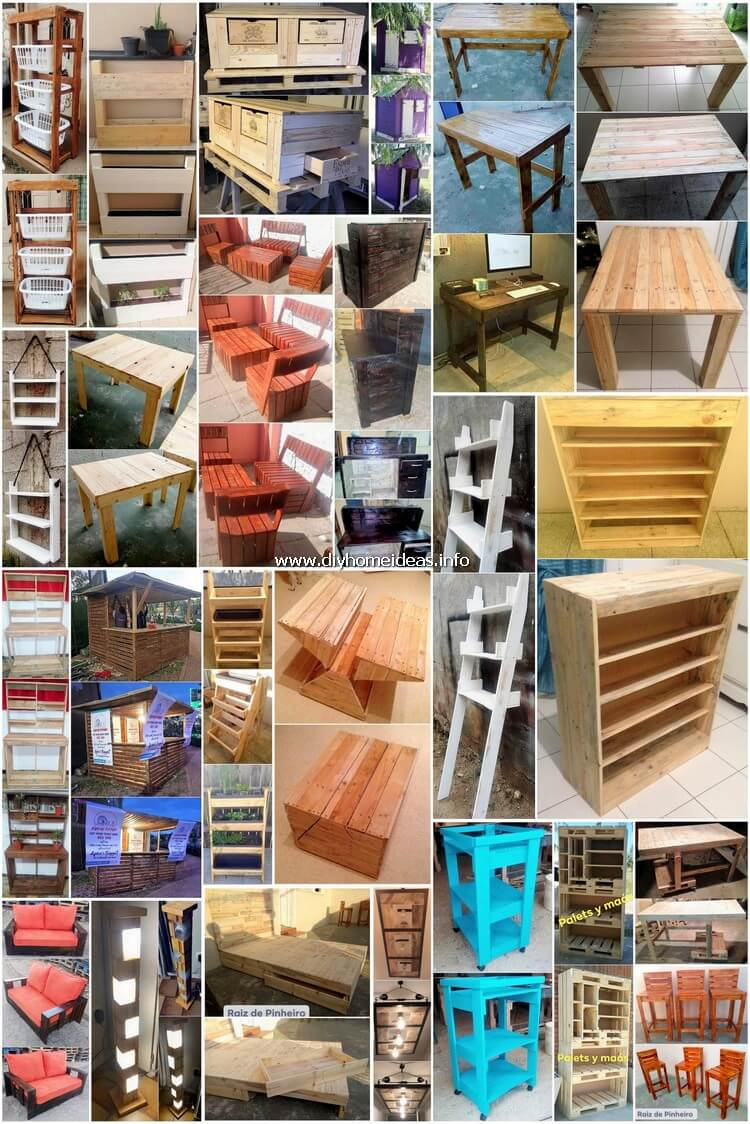 Modernize DIY Wood Pallet Recycling Ideas