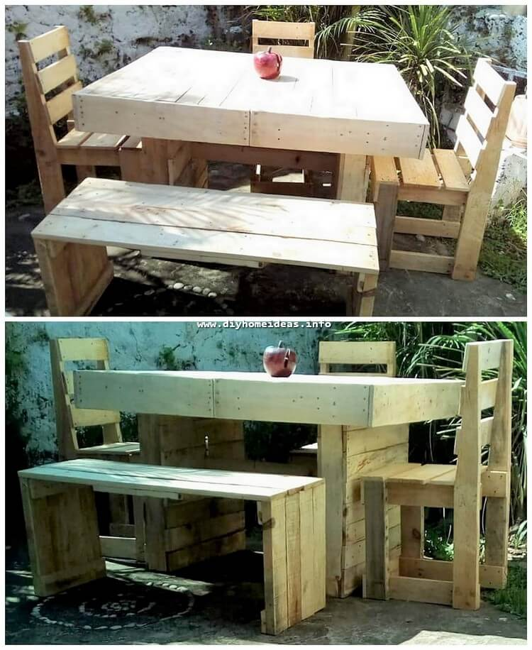 Pallet Oudoor Furniture