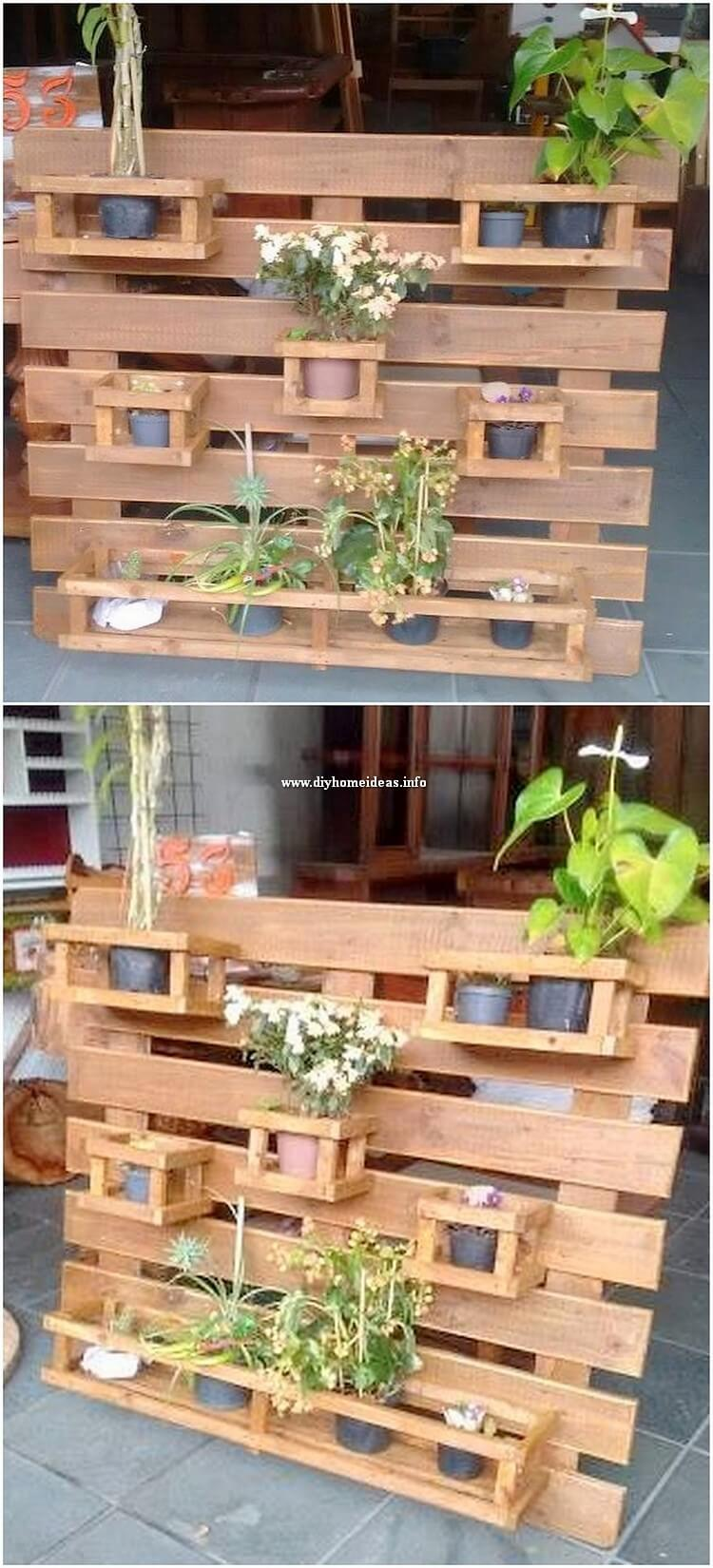 Pallet Wall Planter