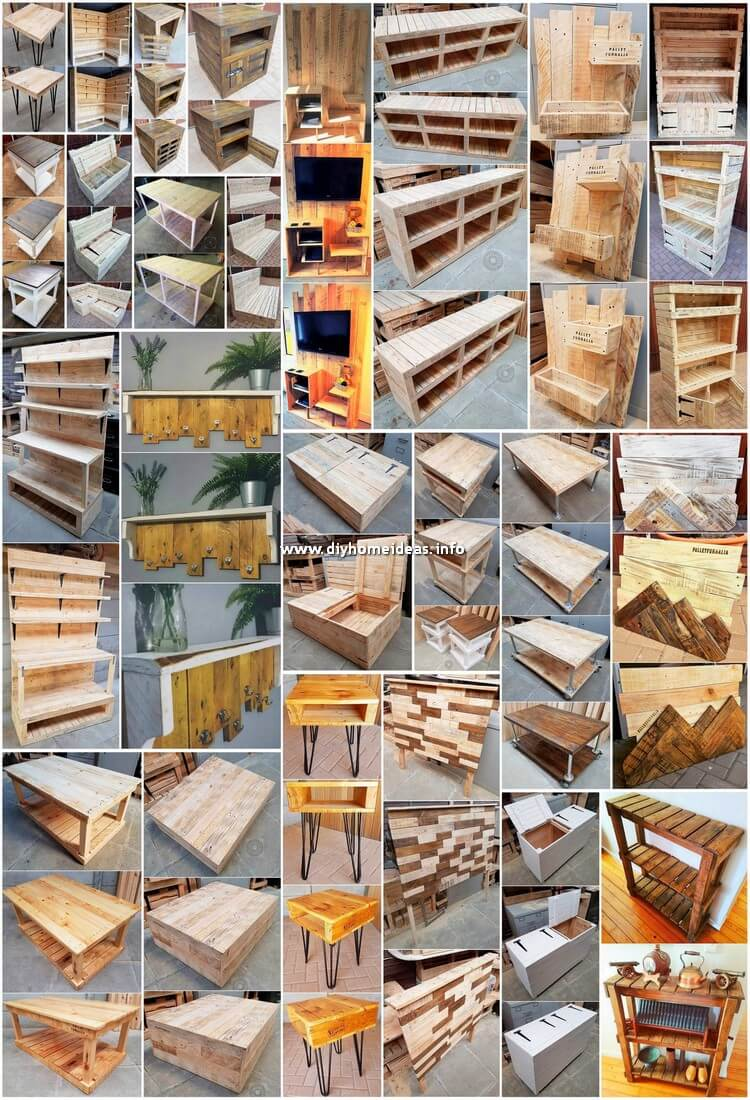 Useful Ways to Recycled Wasted Wood Pallets