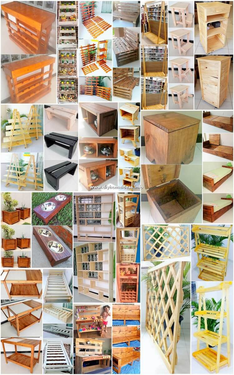 Easiest DIY Ideas with Recycled Wood Pallets