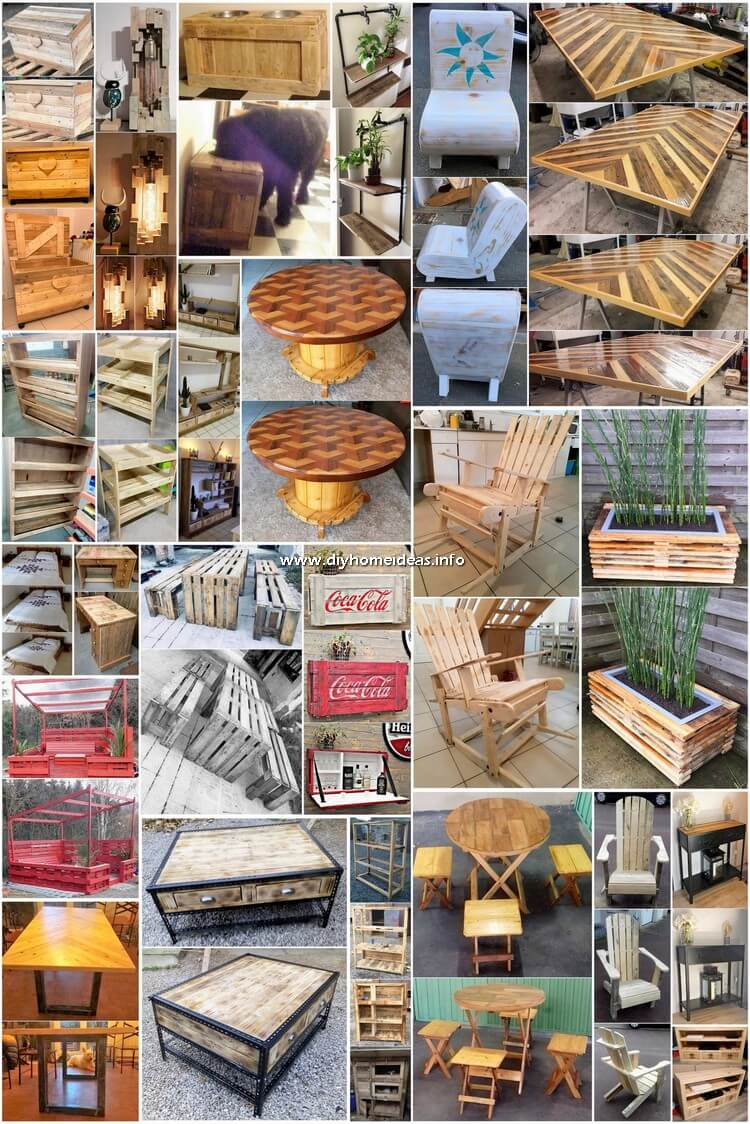 Genius Ways to Upcycle Scraped Wood Pallets