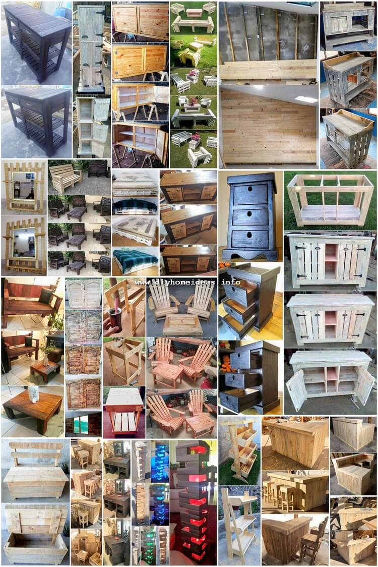 Inspired DIY Ideas for Wood Pallet Recycling