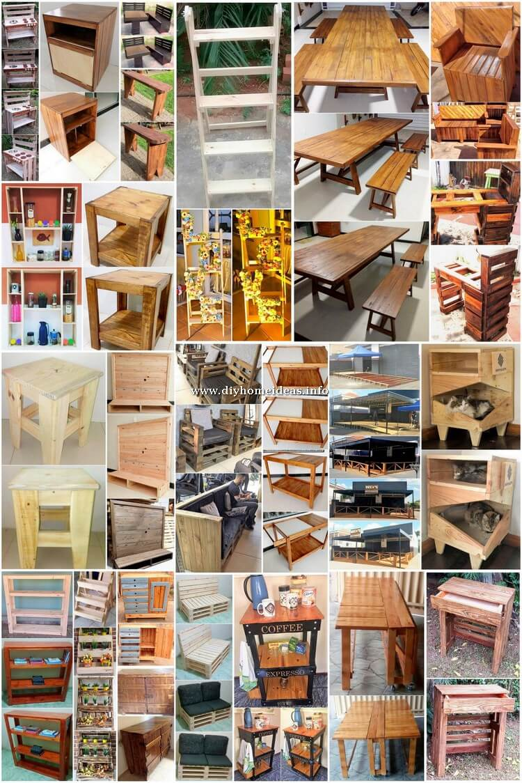 Clever DIY Wooden Pallet Ideas for Your Home