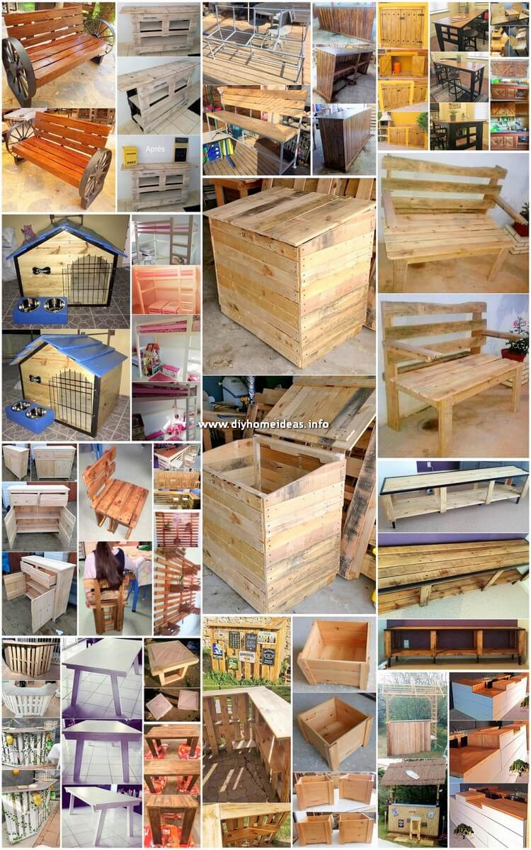 Perfect Ideas for Repurposing Wasted Wood Pallets