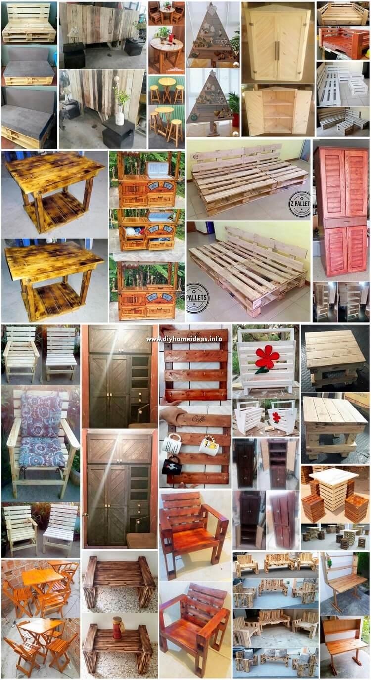 Splendid Ideas for Old Wood Pallet Reusing