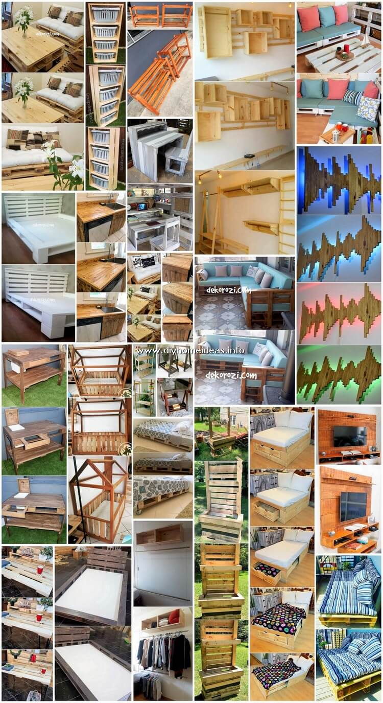 Cheap DIY Creations with Recycled Wood Pallets