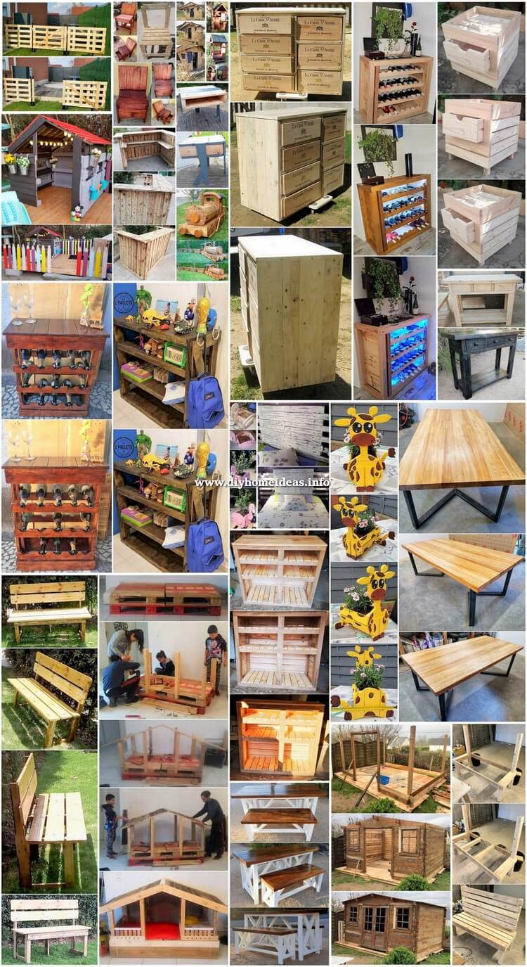 Most Prominent DIY Ideas with Pallets
