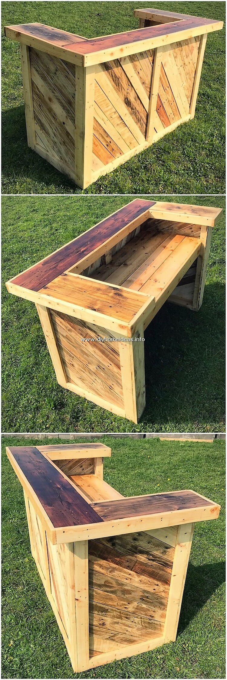 Pallet Garden Counter Table