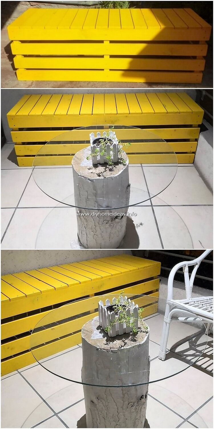Pallet Seat or Bench