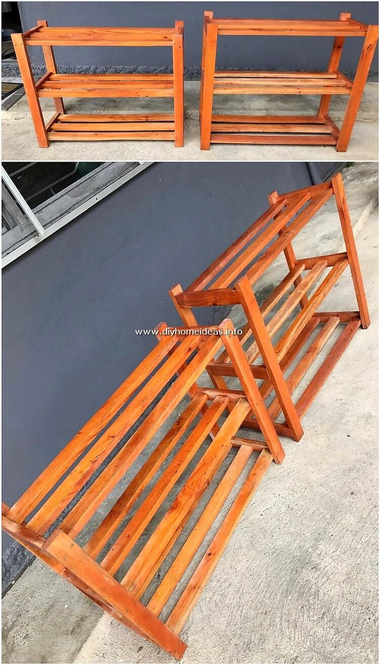 Pallet Shelving Tables