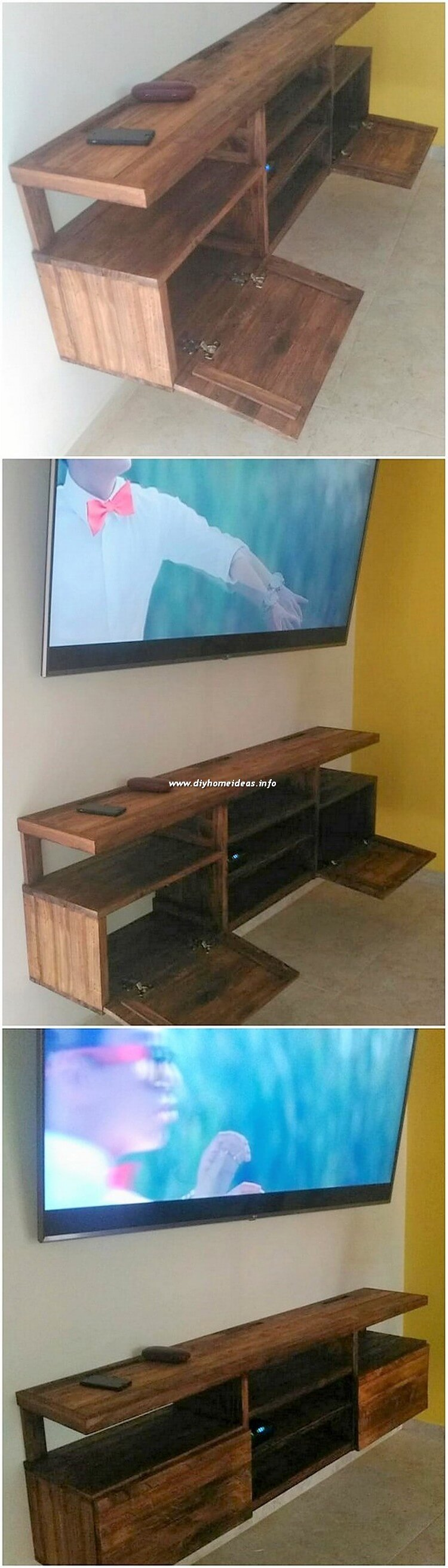 Pallet Wall Cabinet