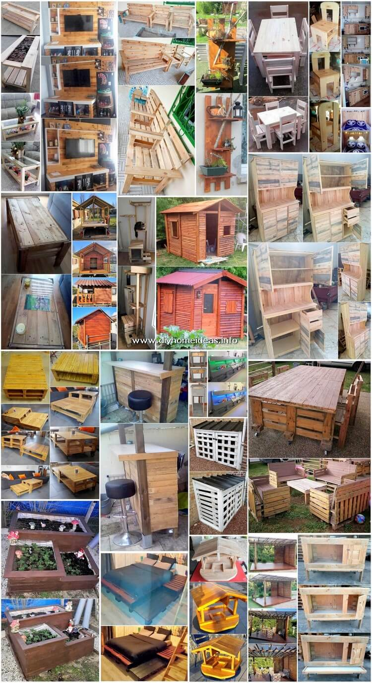 Splendid Wood Pallet Creations for Your Home and Outdoor