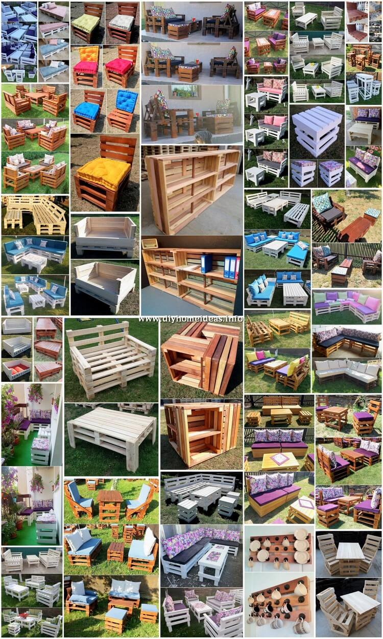 30+ DIY Amazing Furniture Ideas with Wood Pallets