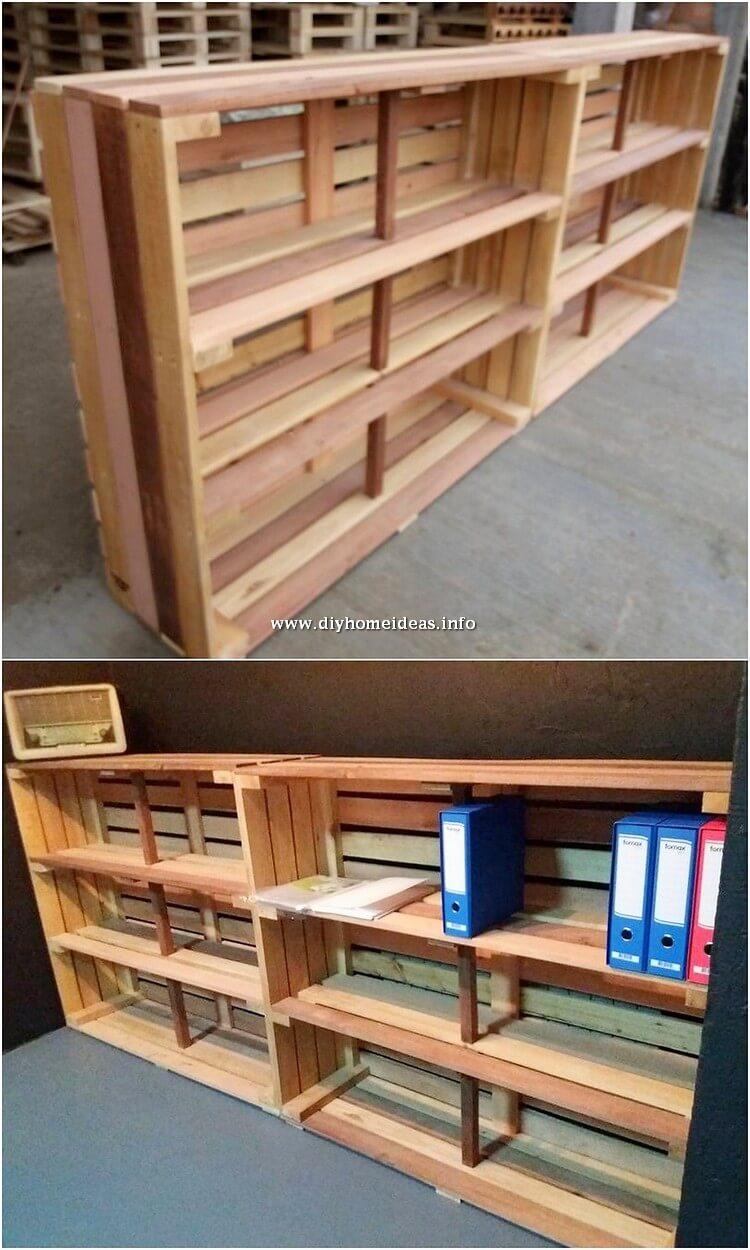 Pallet Bookshelving Unit