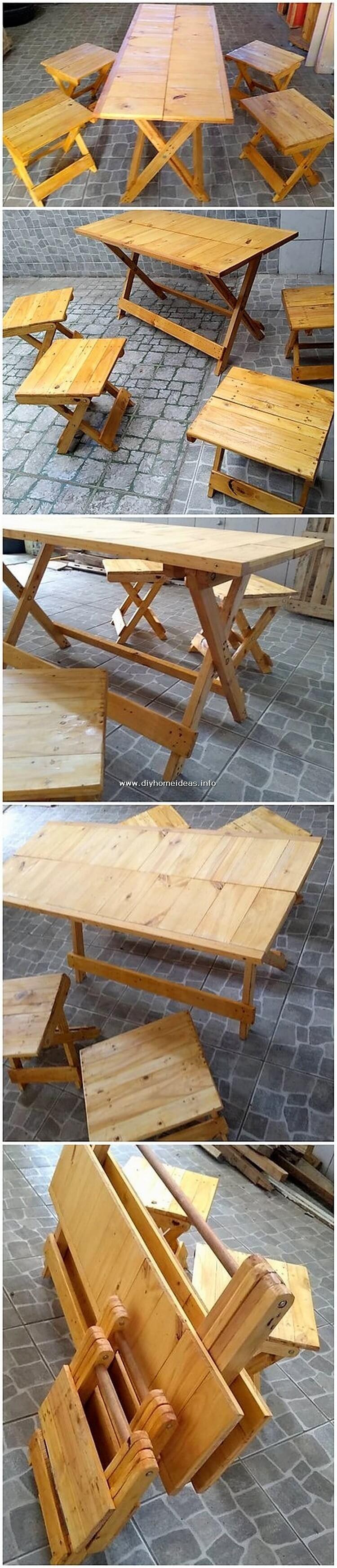 Pallet Folding Tables