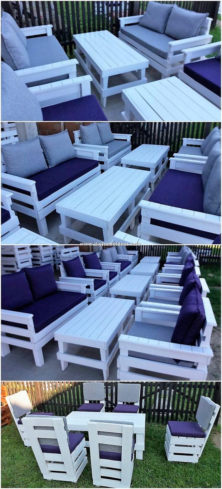 Pallet Garden Furniture Design