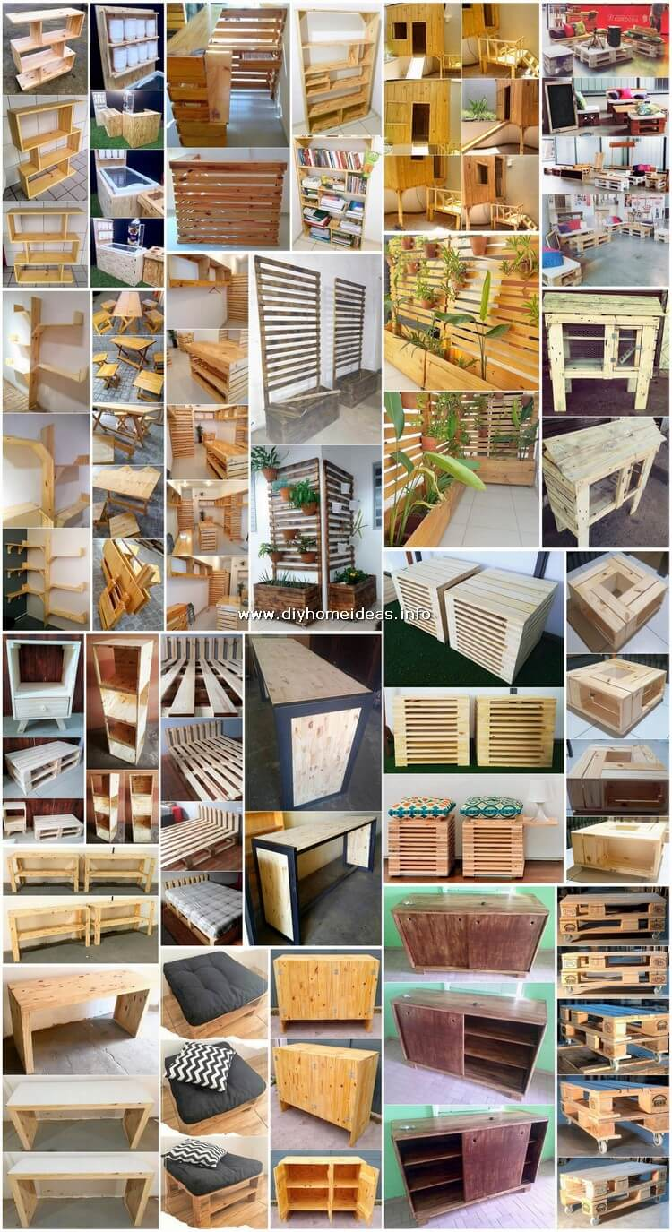 Useful and Easy DIY Ideas to Recycle Old Pallet Wood