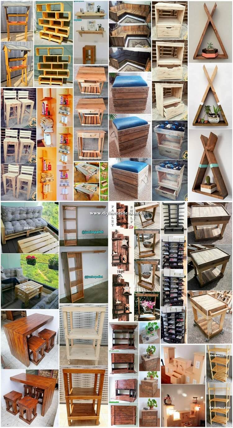 Creative and Useful Creations to Make with Shipping Pallets