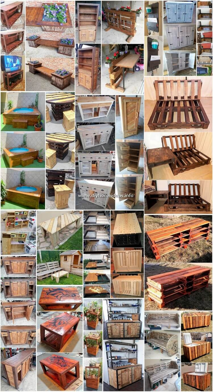 Genius DIY Ideas for Shipping Pallets Reusing
