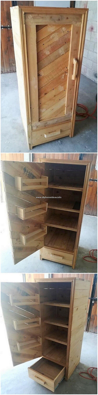 Pallet Cabinet Idea