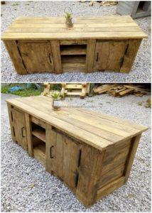 Pallet Wood Cabinet